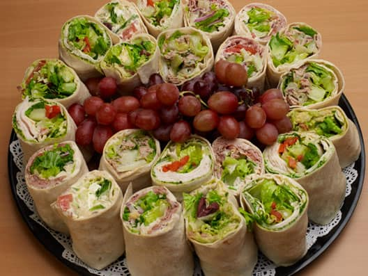 Mediterranean Catering Wraps Platters from Cafesano in Reston, VA