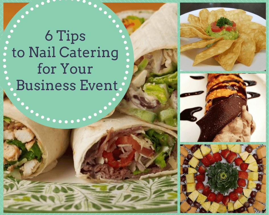catering tips for business events