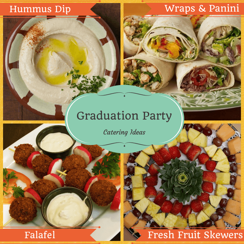 Graduation Party Catering Ideas in Dulles