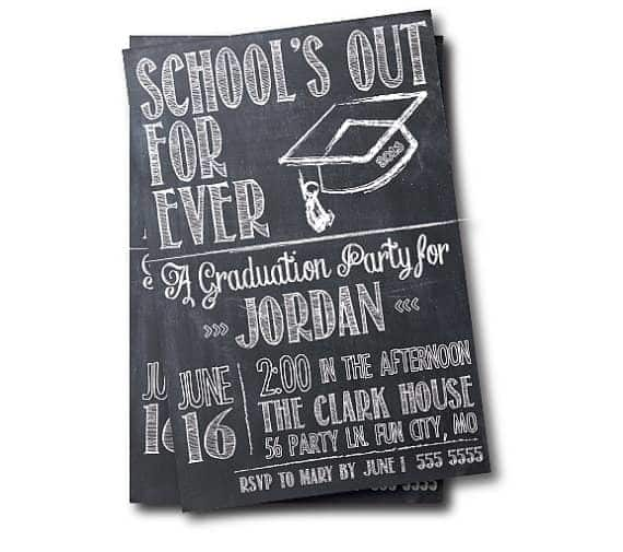 Dulles Graduation Party Invitation
