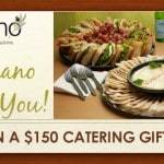Enter for Your Chance to Win Or Catering Sweepstakes!