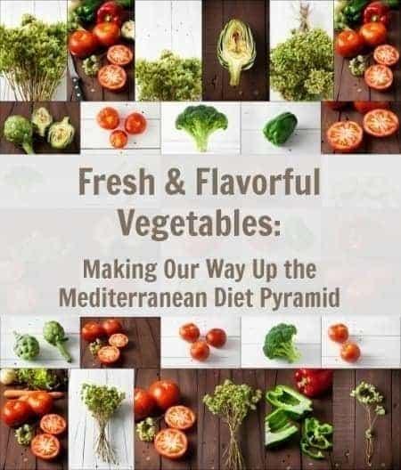 Mediterranean Diet Pyramid Focusing on Vegetables at Cafesano in Reston VA