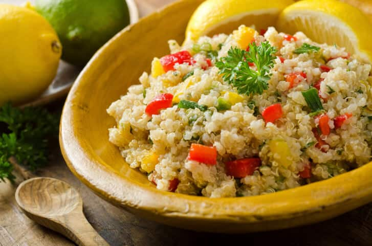 try quinoa as a healthy substitution for northern va carryout meals