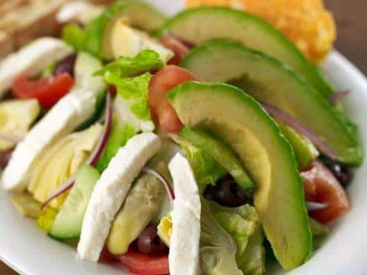 Cafesano Signature Salad with Avocado