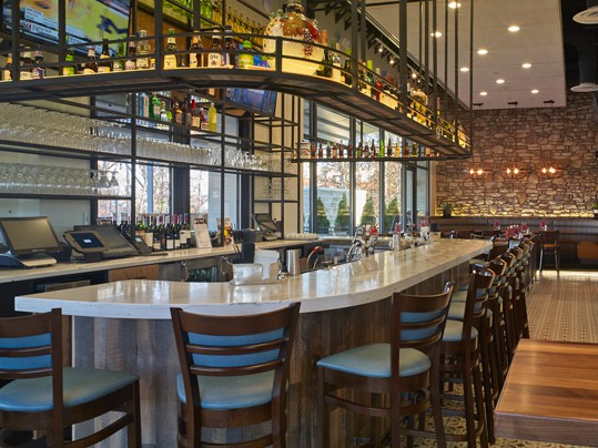 Enjoy Happy Hour at our Bar at Dulles Town Center.
