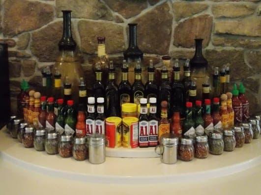 Seasoning Bar at Our Dulles VA Restaurant